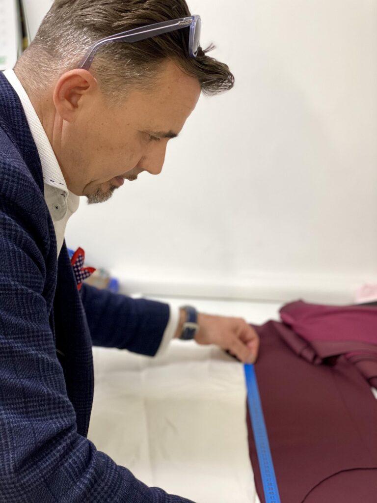 férfi ruha készítés